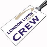 London Luton Airport tag